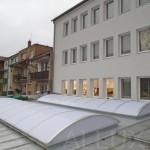 dodávka světlíků s nízkým prostupem tepla - ALLUX SANDWICH THERMO (Holešov, ul. Palackého)